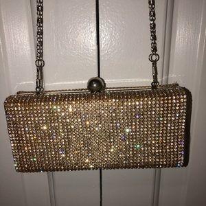 Glittery crossbody bag